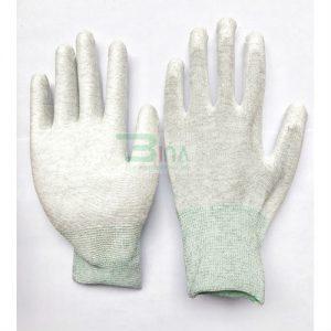 Găng tay chống tĩnh điện ESD, găng tay phủ PU chống tĩnh điện